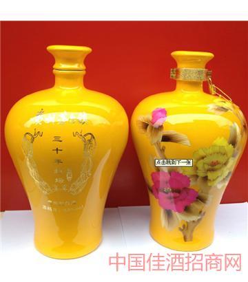 三十年(梅瓶黄色8斤)酒