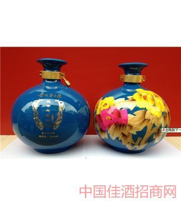 三十年(苹果瓶蓝色5斤)酒