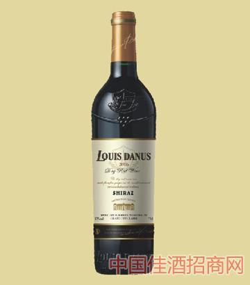 法国路易丹尼斯原装进口西拉干红葡萄酒750ML红酒