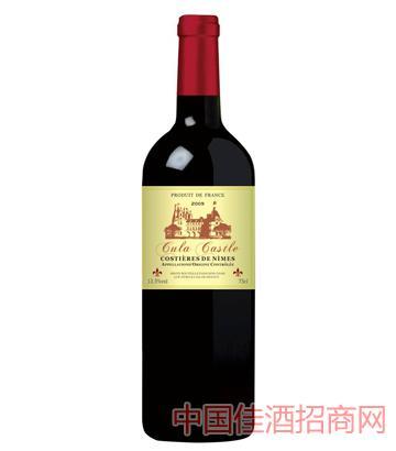 法国古拉城堡2009干红葡萄酒