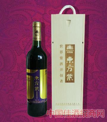 东方紫2008干紫葡萄酒
