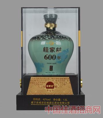 1.5L600年古桂花酒