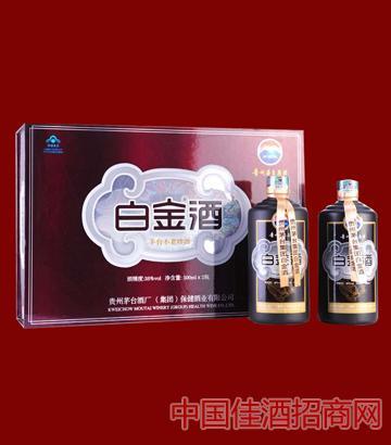 茅�_白金酒38度�Y盒