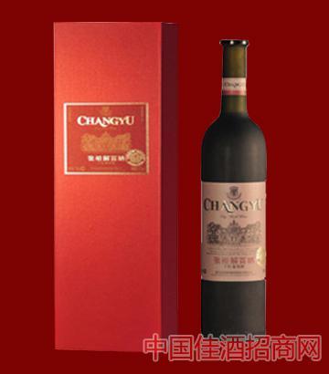 张裕珍藏?#30563;?#30334;纳干红红盒葡萄酒