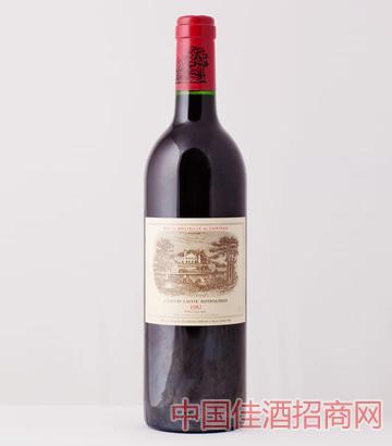 拉菲古堡葡萄酒