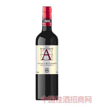 拉菲古堡2009葡萄酒