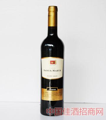 洞穴圣玛尔塔珍藏葡萄酒2009