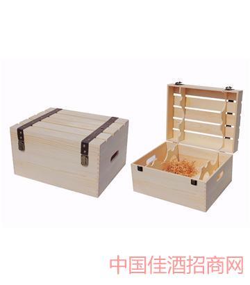 北京新款六支�b酒木箱