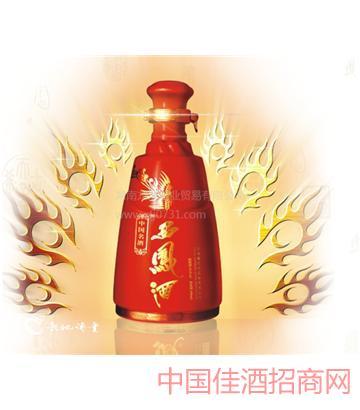55°西凤酒中国红红西凤,西凤酒代理