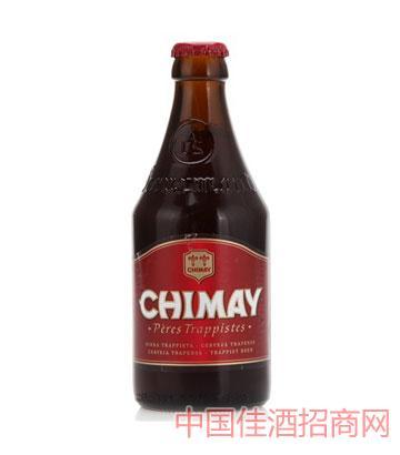 智美修道士红帽啤酒330ml瓶装