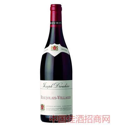 约瑟夫杜鲁安博若莱村酿干红葡萄酒