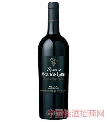 罗思柴尔德男爵木桐嘉棣珍藏梅多克干红葡萄酒