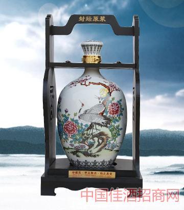 冬瓜仙鹤原浆酒