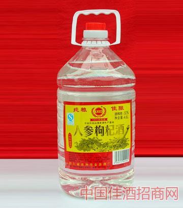 人参枸杞酒(50度,4.5L,14,塑料桶)