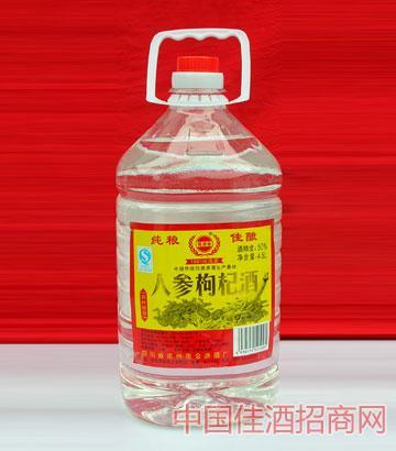 人参枸杞酒(45度,4.5L,14,塑料桶)