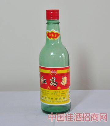 红高粱大曲酒(52度,478ml,1&年61473;20,玻璃瓶)