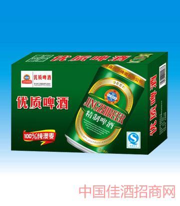 330毫升青岛啤酒精品
