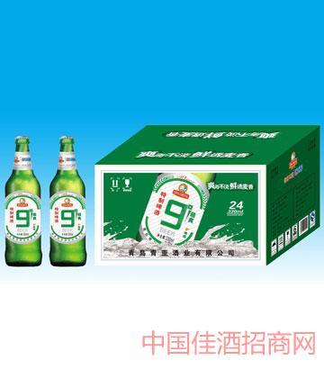 330毫升青岛九度啤酒