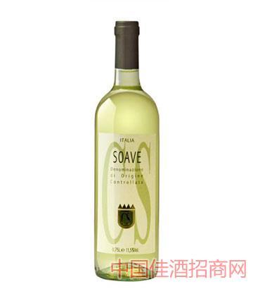 苏韦瓦白葡萄酒