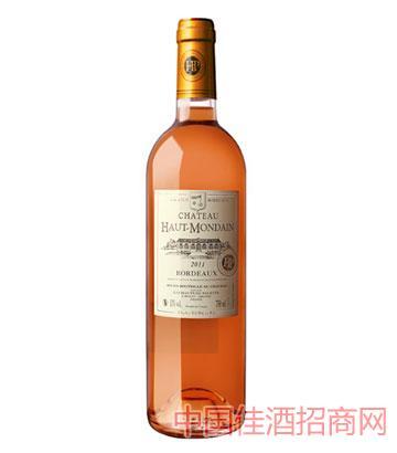 豪特蒙顿庄园—豪特蒙顿玫红葡萄酒