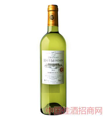 豪特蒙顿长相思干白葡萄酒