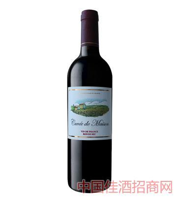 田园精选干红葡萄酒