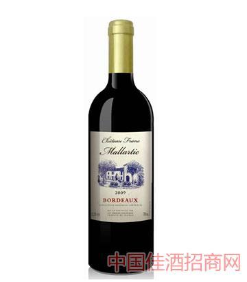 法兰克酒庄玛拉蒂克葡萄酒