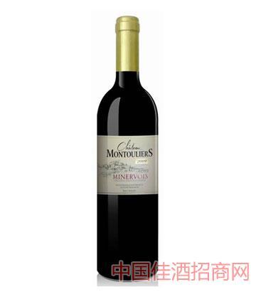 蒙图丽埃酒庄干红葡萄酒