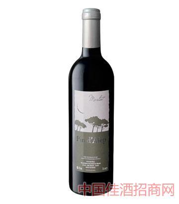 迪奥利城堡梅洛干红葡萄酒