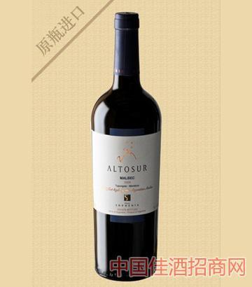 阿图索马尔贝克红葡萄酒