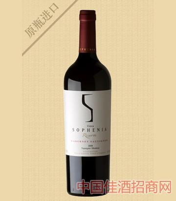 索菲亚陈酿马尔贝克红葡萄酒