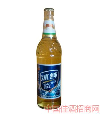 冰纯蓝标啤酒