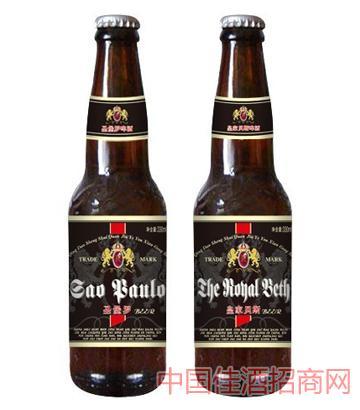 圣堡罗啤酒(黑瓶)