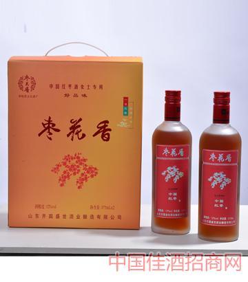 枣花香中国红枣酒