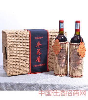 枣花香中国红枣营养酒