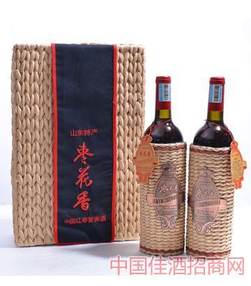 枣花香中国红枣营养酒1