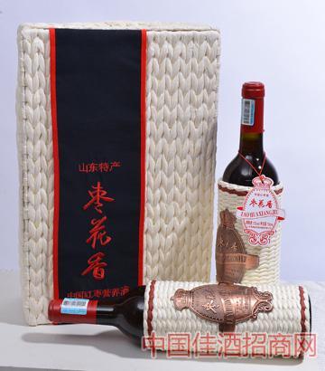 枣花香中国红枣营养酒2