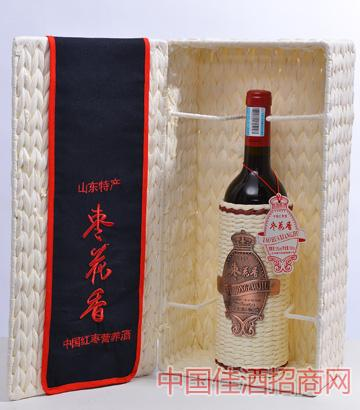枣花香中国红枣营养酒3