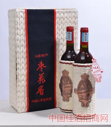 枣花香中国红枣营养酒双瓶