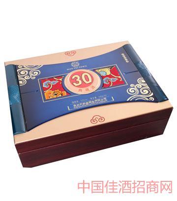 38°45°52°加多福酒典藏30年酒