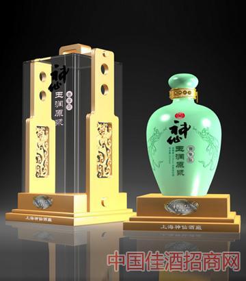 52°神仙玉润原浆奢享型酒