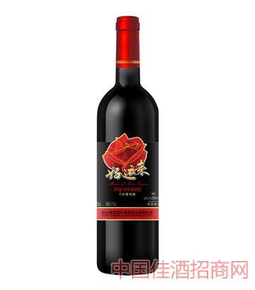尊顶好运来干红葡萄酒