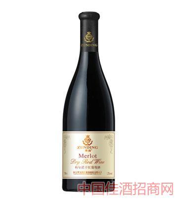 2013新款梅尔诺干红葡萄酒