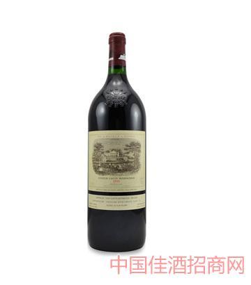 一级名庄拉菲古堡干红葡萄酒