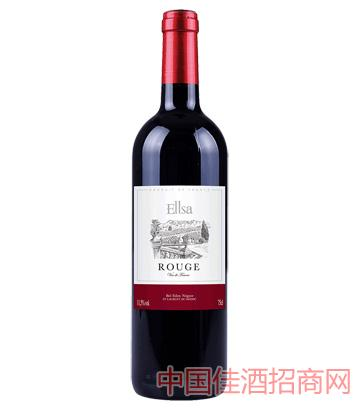 埃尔莎干红葡萄酒750ML