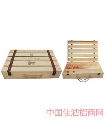 北京新款平排六支�b酒箱