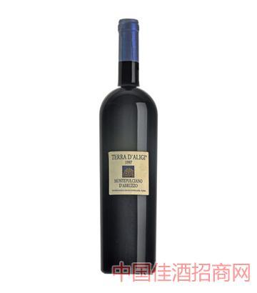泰利帝爵葡萄酒1997