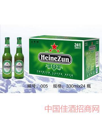 005喜樽啤酒330mlx24