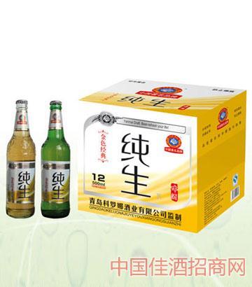 金色经典纯生啤酒500mlx12