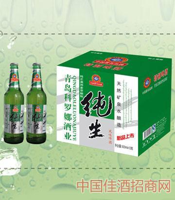 纯生风味啤酒500mlx12